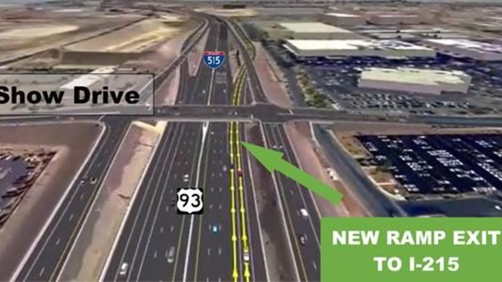 New 95/215 interchange configuration arriving in Henderson | KSNV
