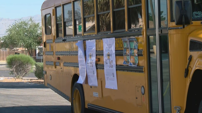 Clark County Schools Equip School Busses With Wi Fi To Provide Students Internet Access Ksnv