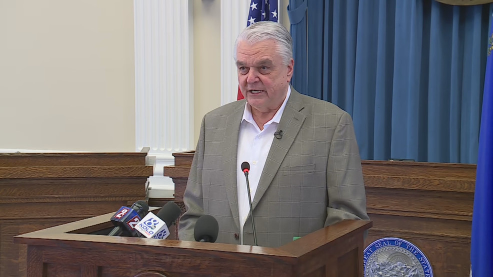Gov Sisolak Unveils Roadmap To Recovery Plan Phase One Starts May 15 Or Sooner Ksnv