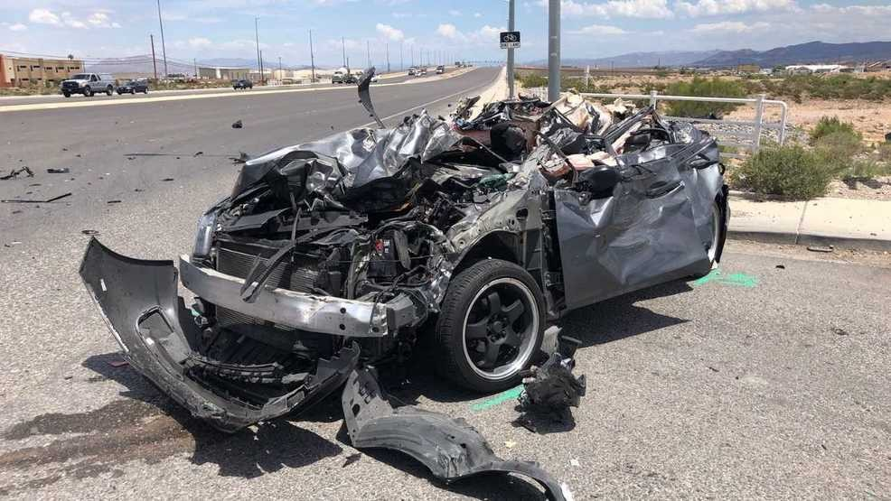 Woman dies nine days after crash near Blue Diamond, Rainbow | KSNV
