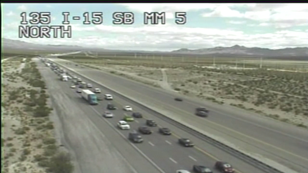 Holiday headache: Memorial Day weekend traffic hits I-15