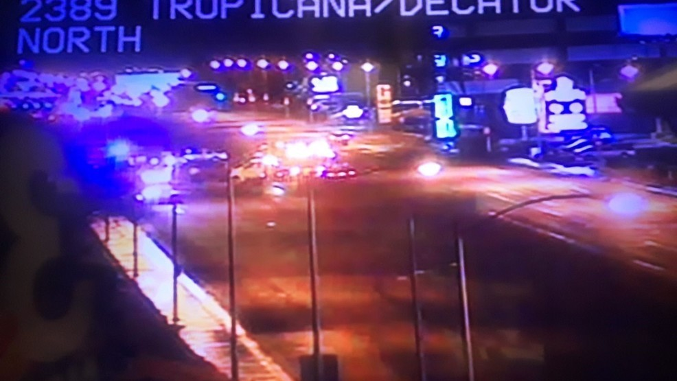 LVMPD: Multiple vehicle crash near Tropicana, Decatur | KSNV