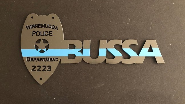 Nevada Teen Honors Law Enforcement With Personalized Metal Signs Ksnv