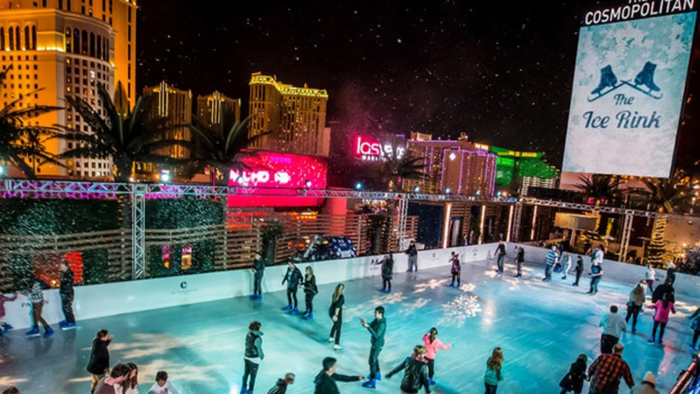 The Ice Rink Returns To Cosmopolitan Of Las Vegas For Winter Season
