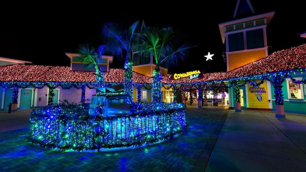 Christmas Town.Christmas Town Opens At Cowabunga Bay This Friday Ksnv