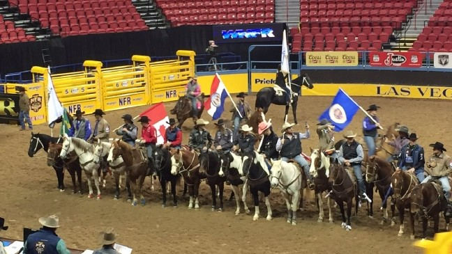 Las Vegas Rodeo >> National Finals Rodeo Rides Into Las Vegas For The 32nd Year