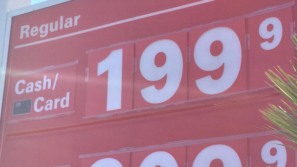Las Vegas Gas Prices >> Las Vegas Gas Prices Dip Below 2 Finally Ksnv